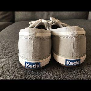 Keds Shoes - Keds light gray women's boat shoes.